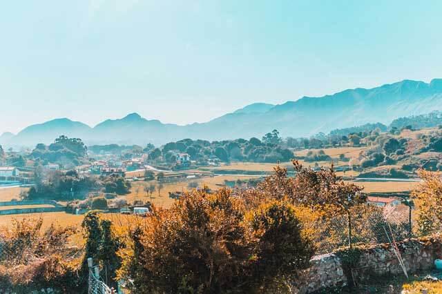 une photo prise non loin de Llanes dans les asturies