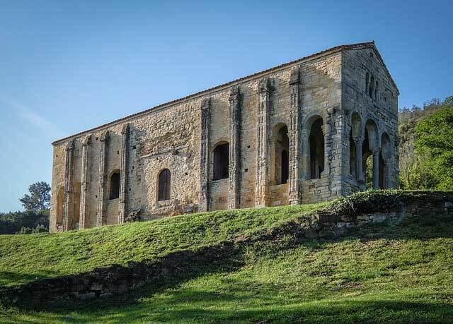 la cathédrale d'Oviedo dans les asturies