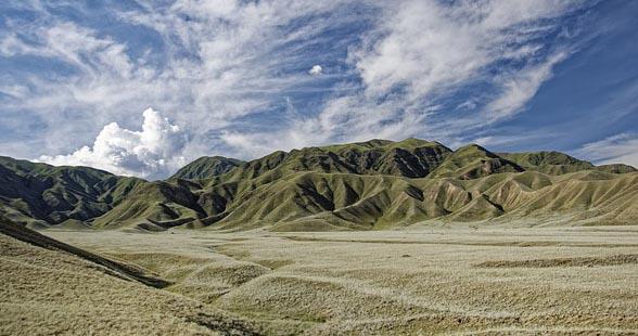 Des magnifiques paysages du Kirghizistan